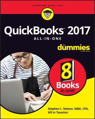 QuickBooks 2017 All-in-One for Dummies by Stephen L. Nelson E-Book Download